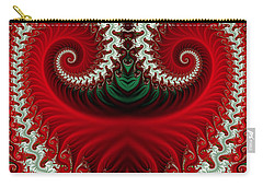 Christmas Swirls Carry-all Pouch