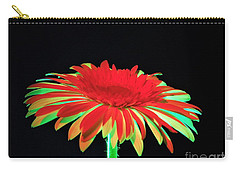Christmas Daisy Carry-all Pouch