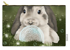Carry-all Pouch featuring the painting Christmas Decoration  by Veronica Minozzi