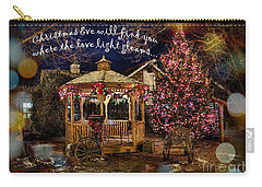 Carry-all Pouch featuring the digital art Christmas Eve Card 2016 by Kathryn Strick