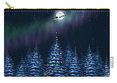 Carry-all Pouch featuring the painting Christmas Eve by Veronica Minozzi