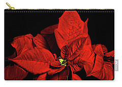Christmas Fire Carry-all Pouch by Christopher Holmes