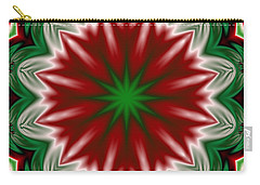 Christmas Flower Carry-all Pouch