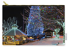 Carry-all Pouch featuring the photograph Christmas In Leavenworth by Dan Mihai
