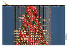 Carry-all Pouch featuring the photograph Christmas In Pittsburgh 2016  by Emmanuel Panagiotakis