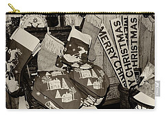 Christmas In The 1930's Carry-all Pouch