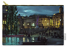 Christmas In Trafalgar Square, London 2 Carry-all Pouch