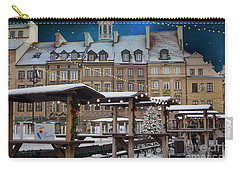 Carry-all Pouch featuring the photograph Christmas In Warsaw by Juli Scalzi