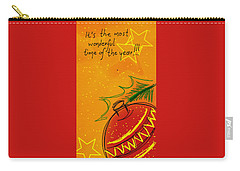 Christmas Is Coming  Carry-all Pouch