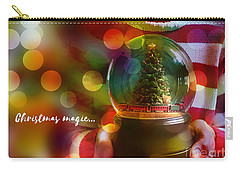 Carry-all Pouch featuring the digital art Christmas Magic 2016 by Kathryn Strick
