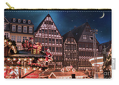 Carry-all Pouch featuring the photograph Christmas Market by Juli Scalzi
