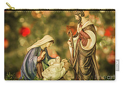 Christmas Nativity Carry-all Pouch