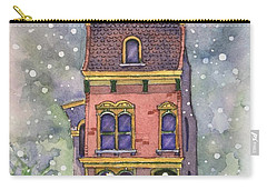 Christmas On North Hill Carry-all Pouch