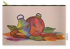 Christmas Ornaments Carry-all Pouch by Christy Saunders Church