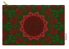 Christmas Quilt Carry-all Pouch