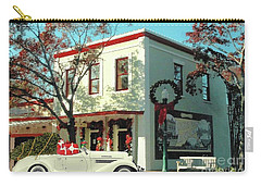 Christmas Shopping In Georgetown, Texas  Carry-all Pouch by Janette Boyd