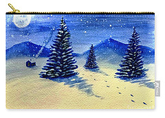 Christmas Snow Carry-all Pouch