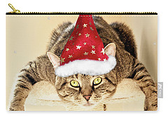 Christmas Splat Cat Carry-all Pouch