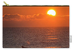 Christmas Sunrise On The Atlantic Ocean Carry-all Pouch