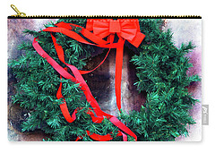 Christmas Wreath In The French Quarter New Orleans Carry-all Pouch