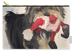 Christmas Yorkie Carry-all Pouch