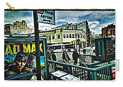 Christopher Street Greenwich Village  Carry-all Pouch by Joan Reese