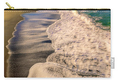Chromatic Aberration At The Beach Carry-all Pouch