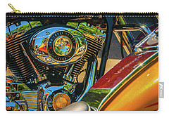 Carry-all Pouch featuring the photograph Chrome And Color by Samuel M Purvis III