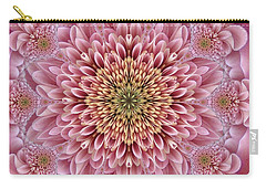 Chrysanthemum Beauty Carry-all Pouch