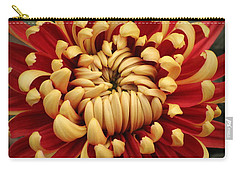 Chrysanthemum In Full Bloom Carry-all Pouch