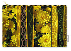 Chrysanthemums On Display Carry-all Pouch
