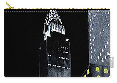 Chrysler Building At Night Carry-all Pouch