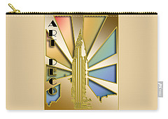 Chrysler Building - Chuck Staley Carry-all Pouch by Chuck Staley