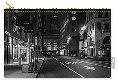 Chrysler Building Nyc And Street Carry-all Pouch