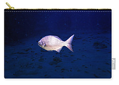 Carry-all Pouch featuring the photograph Chub by Perla Copernik