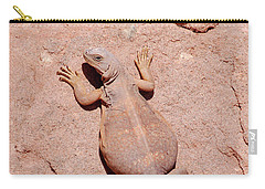Chuckwalla, Saurolamus Ater Carry-all Pouch