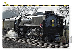 Carry-all Pouch featuring the photograph Chuggin Along by Mark McReynolds