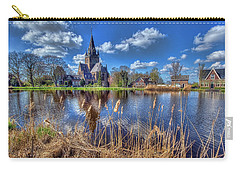 Church Along The Amstel River Carry-all Pouch