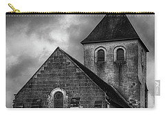 Carry-all Pouch featuring the photograph Church At Saint Pierre by Hugh Smith