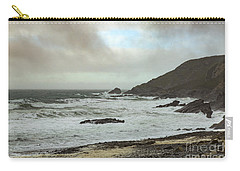 Carry-all Pouch featuring the photograph Church Cove Gunwallow by Brian Roscorla