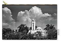 Church In Black And White Carry-all Pouch by Jim Walls PhotoArtist