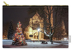 Church Of St Mary St Paul At Christmas Carry-all Pouch