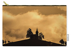 Carry-all Pouch featuring the photograph Church Of St. Thomas #2 - Slovenia by Stuart Litoff