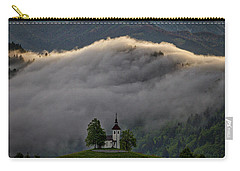 Carry-all Pouch featuring the photograph Church Of St. Thomas - Slovenia by Stuart Litoff