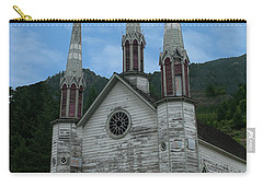 Carry-all Pouch featuring the photograph Church Of The Holy Cross by Rod Wiens
