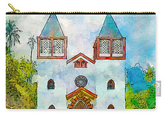 Church Of The Holy Family Carry-all Pouch