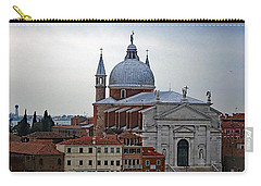 Church Of The Santissimo Redentore On Giudecca Island In Venice Italy Carry-all Pouch