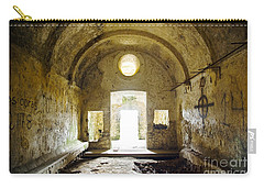 Church Ruin Carry-all Pouch by Carlos Caetano