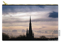 Church Top Silhouette Carry-all Pouch