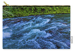 Carry-all Pouch featuring the photograph Churning Water by Jonny D